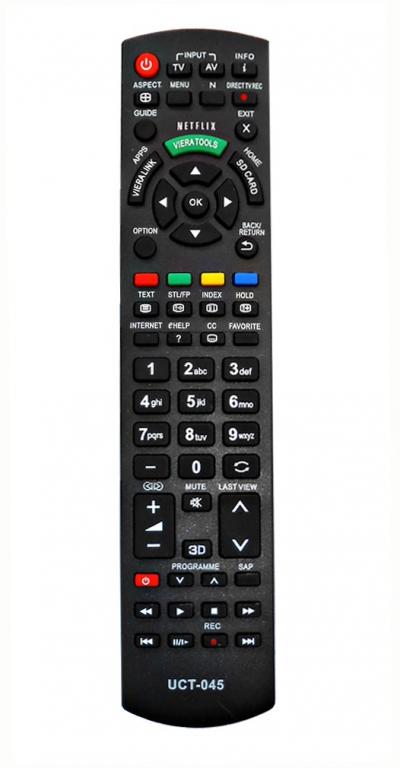 eb68d97336a4 PIL5951 UCT-045 utángyártott távirányító PANASONIC 3D SMART TV-hez ÚJ!!!